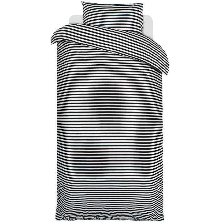 06139c307 Marimekko Doona Single Set - Tasa Black at MAKE Designed Objects